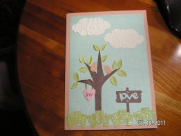 Anniversary Card to Hubby